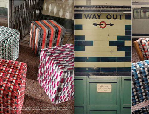 Underground , la nueva colecion de Kirby Design , inspirada en el metro de londres.
