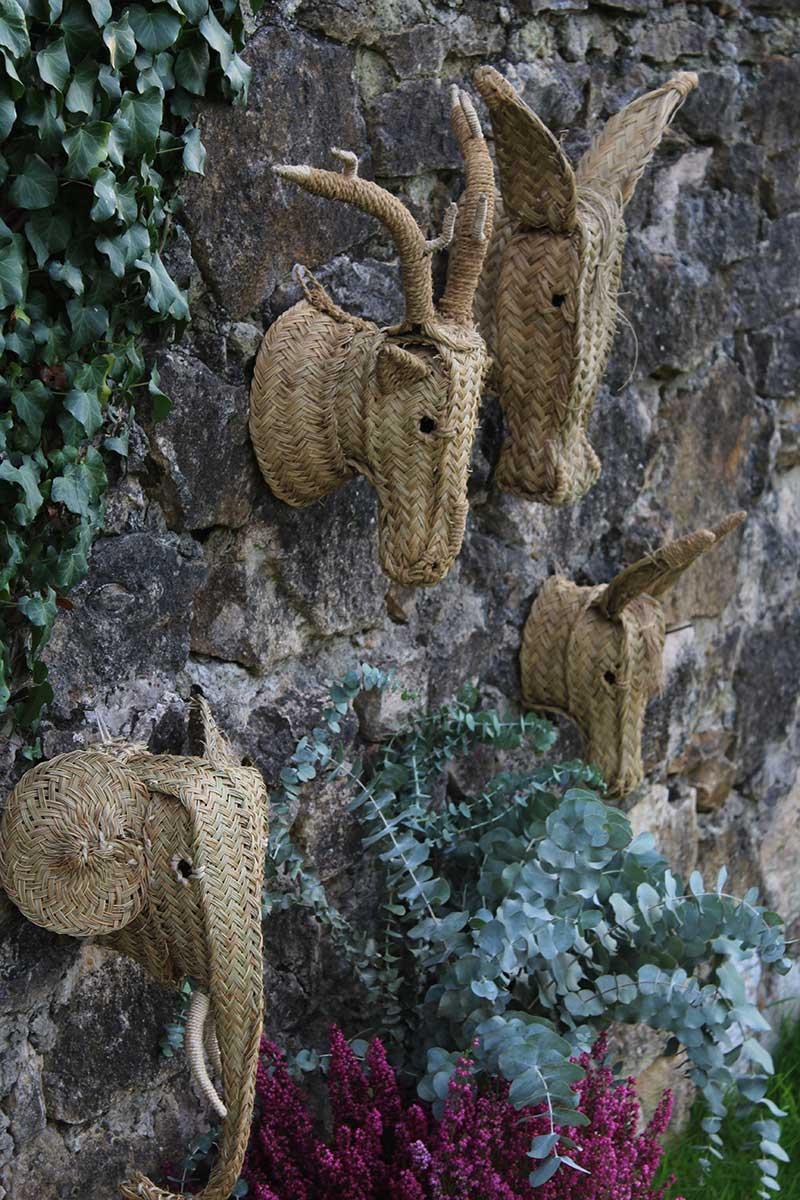 Cabeza elefante esparto comprar online - Cabezas de animales decoracion ...