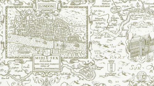 LONDON MAP T6008
