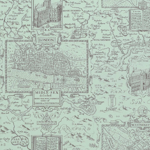 LONDON MAP T6009