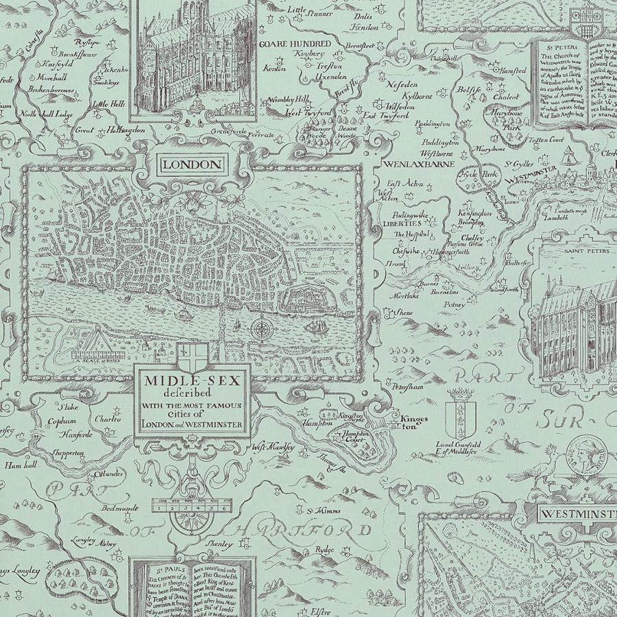 LONDON MAP T6009