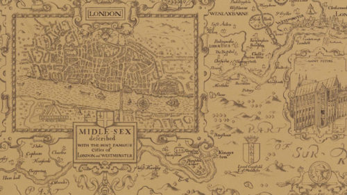 LONDON MAP T6010