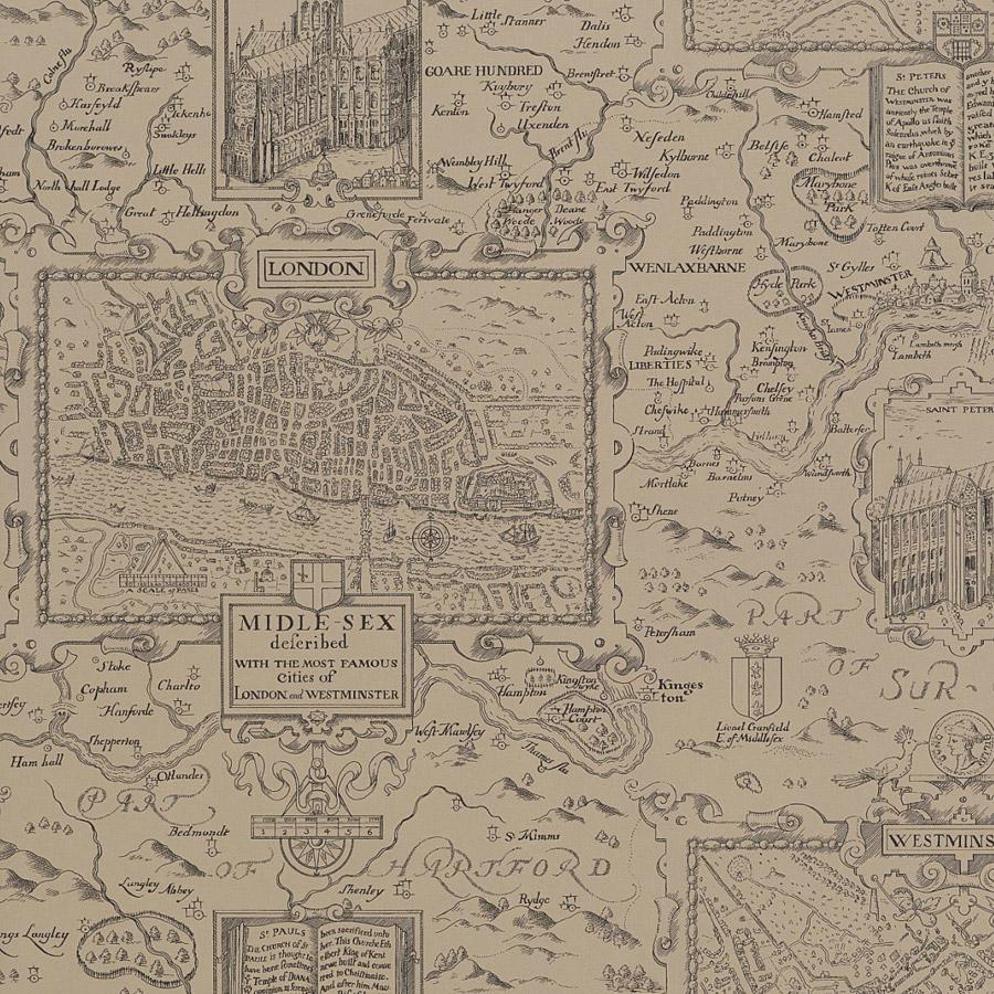 LONDON MAP T6011