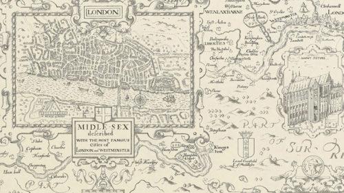 LONDON MAP T6012