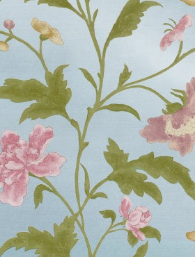 CHINA ROSE - BLUE LUSTRE