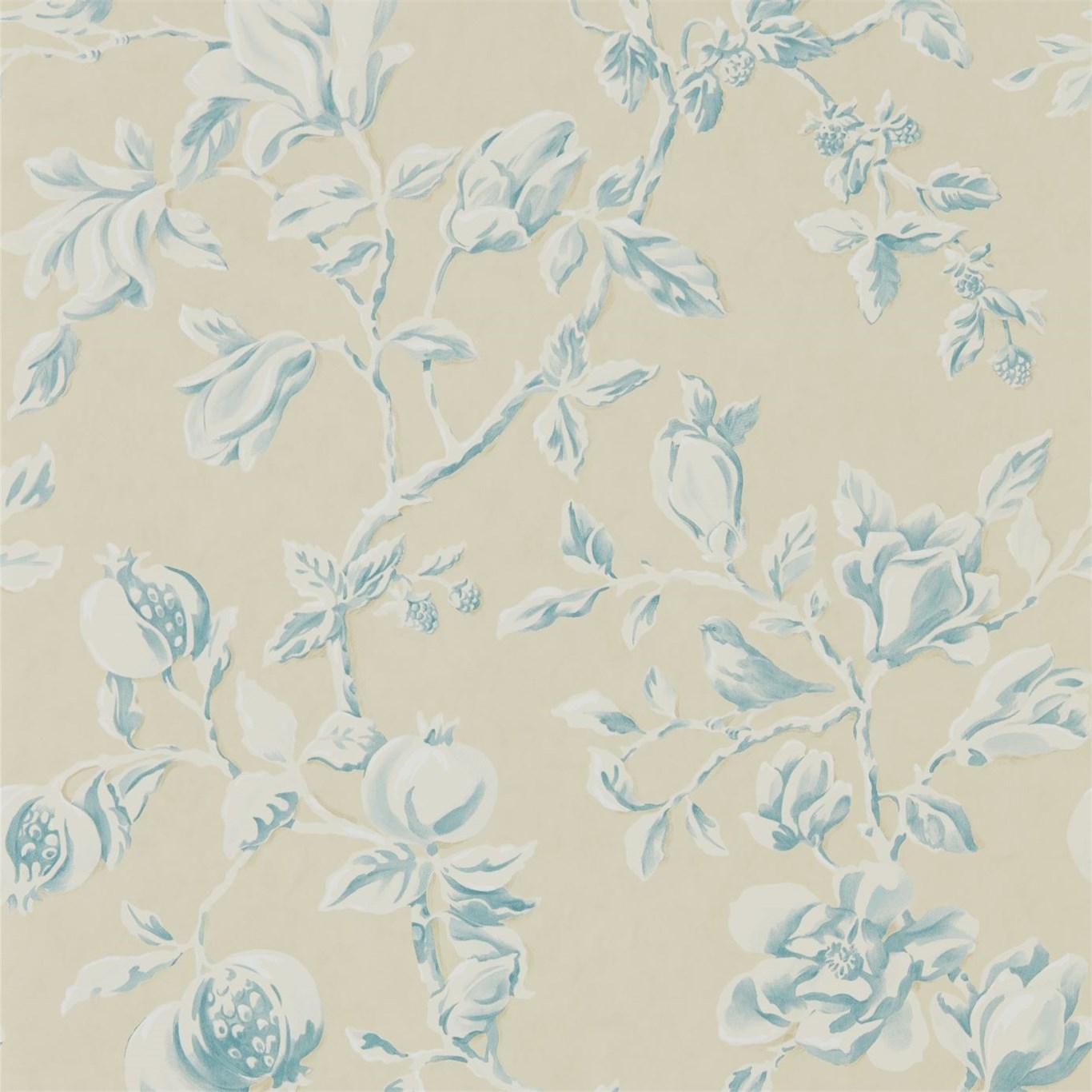 Papel pintado sanderson magnolia pomegranate 215725 - Sanderson papel pintado ...