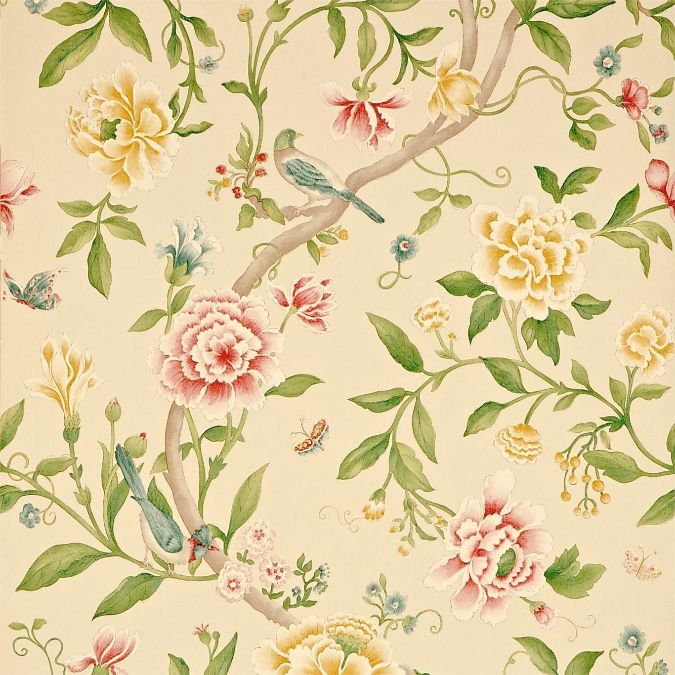 Papel pintado sanderson porcelain garden dcavpo104 - Sanderson papel pintado ...