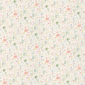 3900012 Field of Flowers White