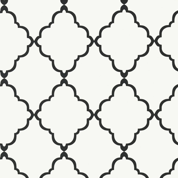 Klein Trellis Black-White AT6059