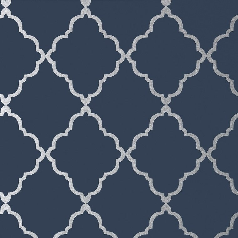 Klein Trellis Silver-Navy AT6060
