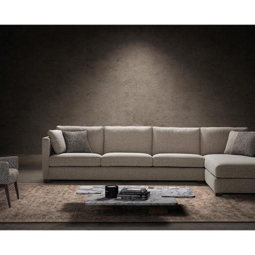 sofa moderno con chaiselongue